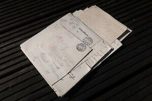 Nachlass 23. Feldpostbriefe Belege mit Inhalt IR 164 u. Lazarett Lippstadt