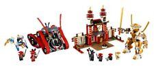 LEGO 70504 & 70505 - Ninjago -  Garmatron & Temple of Light - 2013 - NO BOX