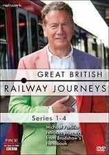 Great British Railway Journeys - Series 1-4 19 X DVD Set BRAND Season R2