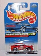 "1999 Hot Wheels #984 (red) UNO Cards car ""ESCORT RALLY""  G3"