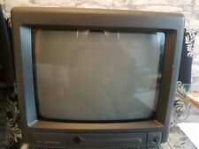 "Goodmans Compact 110 Vintage CRT TV Retro Gaming - 10"" Colour Tested"