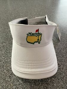 The Masters White Visor (GENUINE Bought At Augusta National)