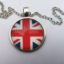 Pendant Gb New Jewellery Gift Uk Fast Union Jack Pendant Necklace or Key Ring