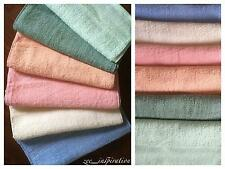 Bulk Lot 12 Hand Towels 100% cotton (Assorted Colours)