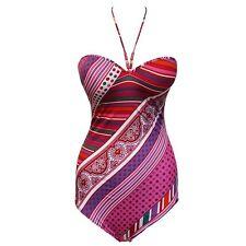 "Lise Charmel ""Arte Venezia"" Rubis seamless bandeau Swimsuit US 38 B / FR 100 B"