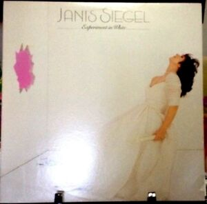JANIS SIEGEL Experiment in White Album Released 1982 Vinyl/Record Collection USA