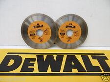 2 X DEWALT DT3703 115MM  ANGLE GRINDER  HARD MATERIAL DIAMOND CUTTING DISCS