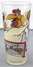 Vintage Looney Tunes Foghorn Leghorn & Henery Hawk Glass Pepsi Collector Series