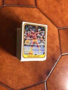 76-150 WWF 1991 FIGURINE-COMPLETA LA TUA COLLEZIONE
