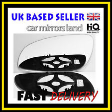 Left Passenger  Wing Mirror Glass Convex HEATED VAUXHALL SIGNUM 2003-2008