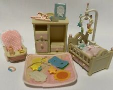 Calico Critters Sylvanian Families Baby Nursery Furniture Set
