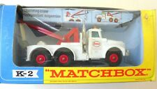 Matchbox K-2 Heavy Wreck Truck  ❌ in OVP ❌999