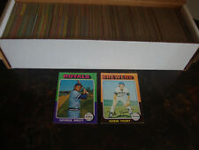 1975 Topps Baseball---Near Complete Set 1-660---Need 10 Cards---See LIst