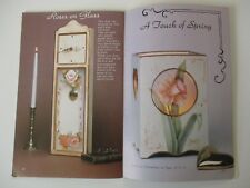 A Touch of Class with Glass Decorative Tole Painting on Glass Aileen Bratton
