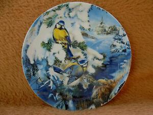 Hutschenreuther Wandteller - Blaumeisen - Nr. 4127 / TOP