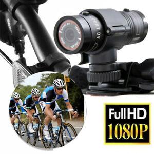 1080P Mini HD Wasserdicht F9 Motorrad Fahrrad Action Helm Sport Kamera Video Cam