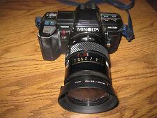 Minolta Maxxum 7000 AF 35 MM Camera w/Minolta AF Lens 28-85 Very Nice Working