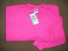 Large Right Hand Trap/Skeet Pad Heliconia Pink Dryblend Shooting Sweatshirt