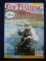 Fly Fishing and Fly tying - Nov 2004 - Master the upstream nymph tactic