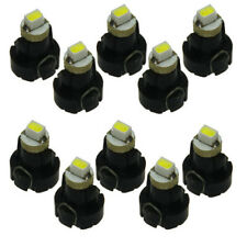 10x White Neo Wedge 1SMD 12V Car Bulbs T3 HVAC Climate Control Lights 8 x 7 mm