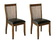 Signature Design by Ashley Furniture Stuman Dining Side Chair Comb Back Set of 2