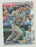 2019 Bowman #90 JEFF McNEIL RC Rookie New York Mets QTY AVAILABLE