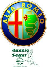 Alfa Romeo sticker 140 x 140 mm BUY 2 & Get 3