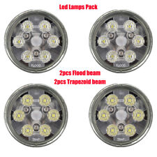 PAR36 led bulbs PACK 2 Flood 2 Trapezoid beam tractor lights Replace 4411 24443