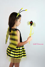 Bumble Bee DRESS UP SET-Bee ALI BACCHETTA Tutu Fancy Dress-Libro Settimana Costume