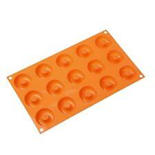 Molde de silicona 15 Small Donuts Bunuelos Línea Fantasía Función la Silikomart