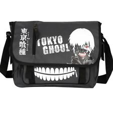 26a3bc174c Tokyo Ghoul Kaneki Canvas Messenger Bag Shoulder Bag Cosplay Anime School  Bag
