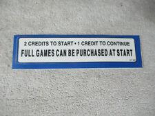 Original Nba Jam pricing Nos Sticker arcade game