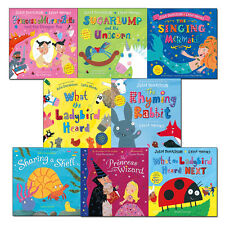 Julia Donaldson What the Ladybird Heard and Other Stories Collection 8 Books Set