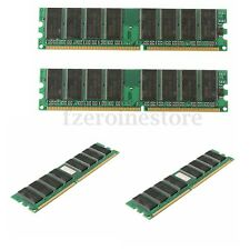 Memoria RAM 4GB (4x 1GB) 3200U DDR1 400Mhz 184pin PC3200 DESKTOP PC DIMM NON-ECC