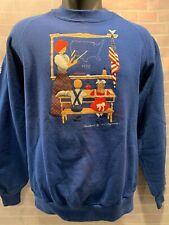 Vintage TEACHER School 1991 Sweat Shirt Size L (42-44)
