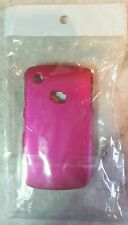 Hard Cell Phone Case For Blackberry Curve 8520/8530, Shiny Hot Pink/Fuchsia, NEW