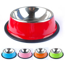 Stainless Steel Dog Bowl Anti Slip Dog Feeder for Small Medium and Large Dogs