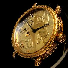 Vintage Men's Wrist Watch Doxa Gold Mechanical Noble Design Mens Wristwatches