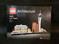 Lego Architecture Las Vegas 21047 Instruction Book Only Complete Used