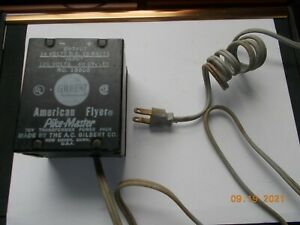 Vintage Gilbert American Flyer Pike-Master Toy Train Transformer 14VDC Output