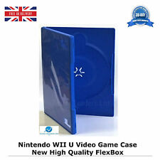 200 Nintendo WII U Video Game Case Blank Replacement Cover Flex box (54 box) HQ