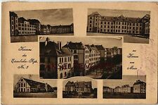Erster Weltkrieg (1914-18) Ansichtskarten aus Hessen für Architektur/Bauwerk und Eisenbahn & Bahnhof