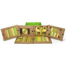 Tegu Magnetic Wooden Blocks Jungle Tones  - 130 Pcs