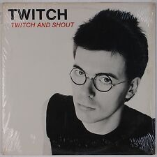 TWITCH: Twitch and Shout BOMB '81 Power Pop New Wave Vinyl LP VG++