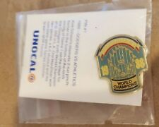 Los Angeles Dodgers World Champions Pin MINT 1988