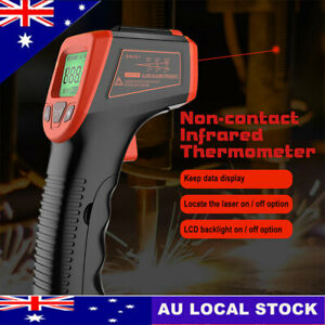 Handheld Digital Infrared Thermometer Non Contact IR-Laser-Point Temperature Gun