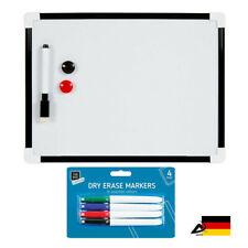 Whiteboard Magnettafel Schreibttafel Pinnwand Memoboard Büro Office Mini baord