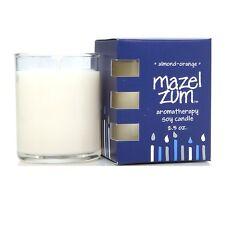 Zum Mazel Glow Votive - Almond-Orange All-Natural Soy Candle 2.5 oz