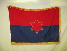 flag1114 US United States Army 6th Infantry Division Unit color 1980's W11E