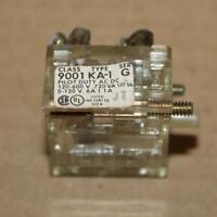 Square D 9001KA1 Ser G Contact Block